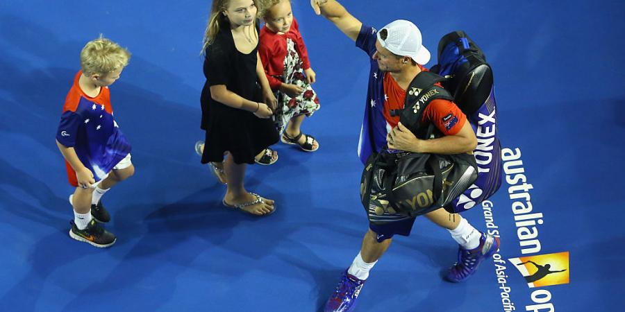 Hewitt savours special family time