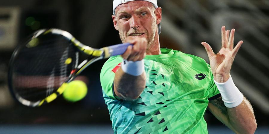 Groth shrugs off ankle concern in loss