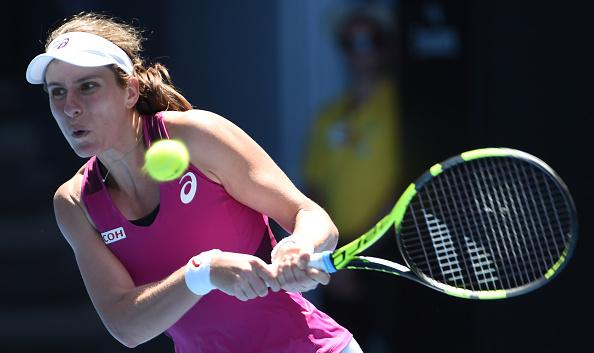 Konta defeated at Open but not deflated