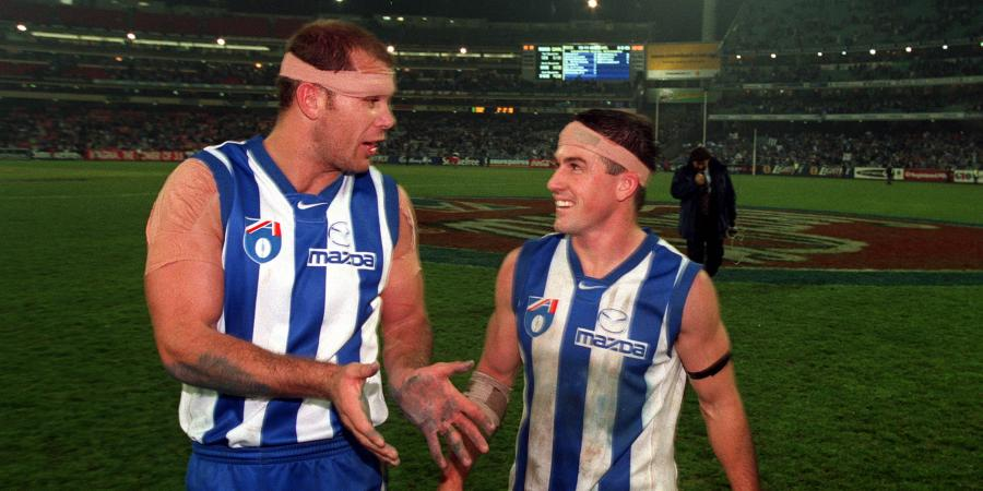 """Tell 'Duck' we should catch up"". Carey, Stevens bury the hatchet 14 years on"