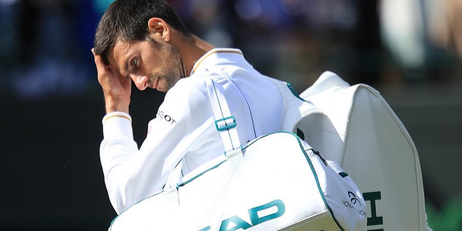 Djokovic beaten at Wimbledon