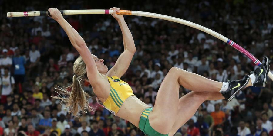 Boyd breaks Australian pole vault record