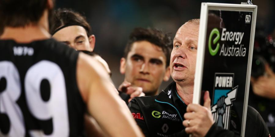 Port coach challenges his players