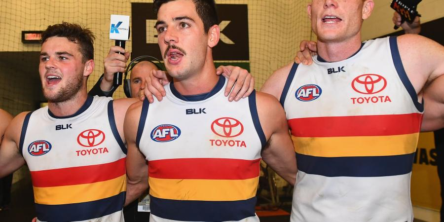 Crows not thinking top four yet: Lyons