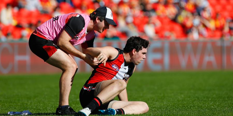Young Saint rested amid concussion fears