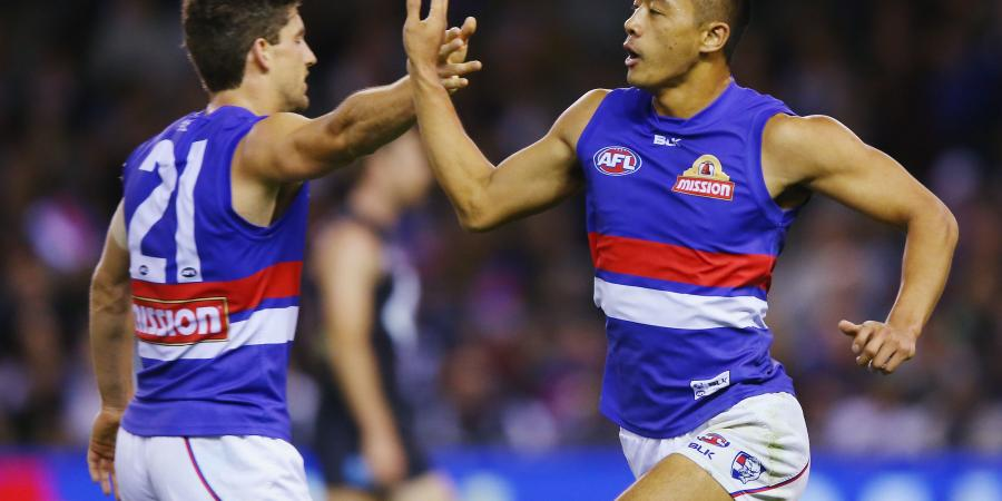 Bulldogs midfielder reportedly tours Collingwood facilities.