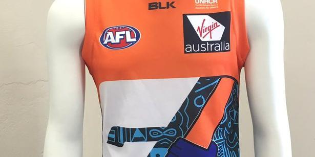 GWS Giants reveal Multicultural Jumper for this weekend
