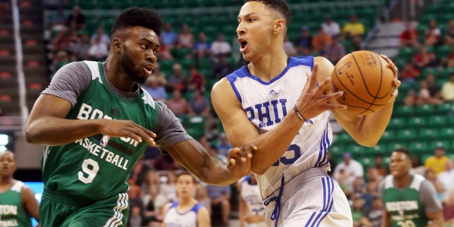 Drama-charged 76ers debut for Simmons