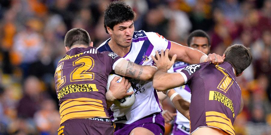Ankle hits Storm forward McLean for six