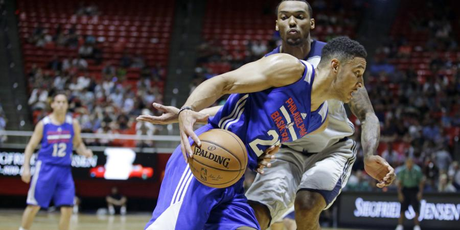 Simmons leads assists in 76ers pre-NBA win