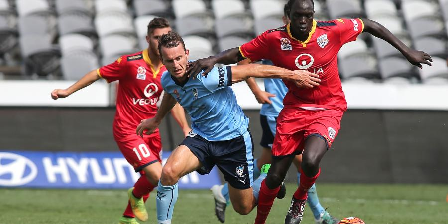 Ruon Tongyik swaps Reds for A-League City