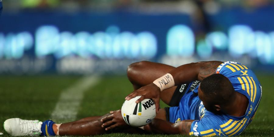Eels' Radradra out for up to six weeks