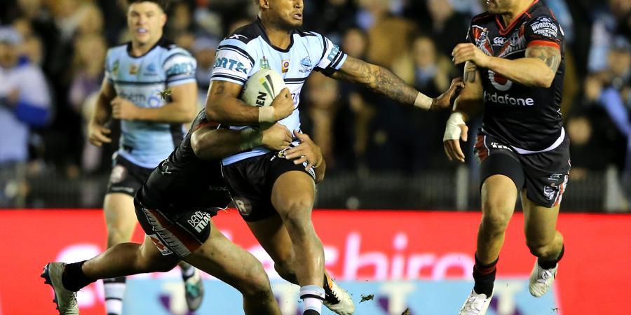 Ben Barba stars as Sharks beat Panthers