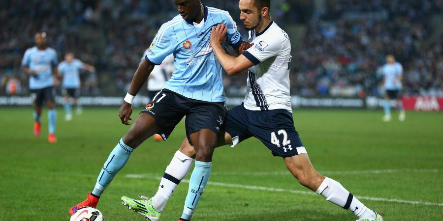 Bernie Ibini set for Sydney FC loan deal
