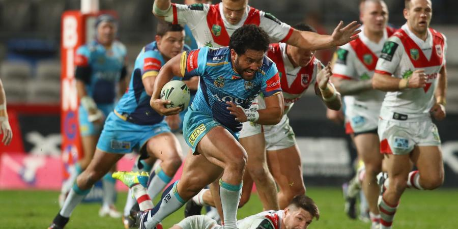 Titans slay Dragons to jump into top eight