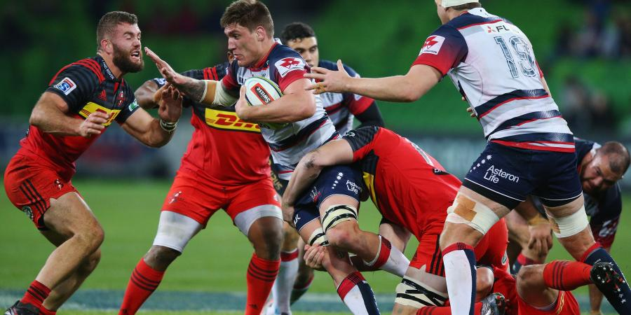 McMahon stars as Rebels beat Reds