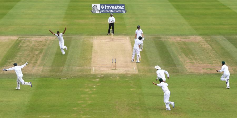 Rahat Ali knocks over England's top order