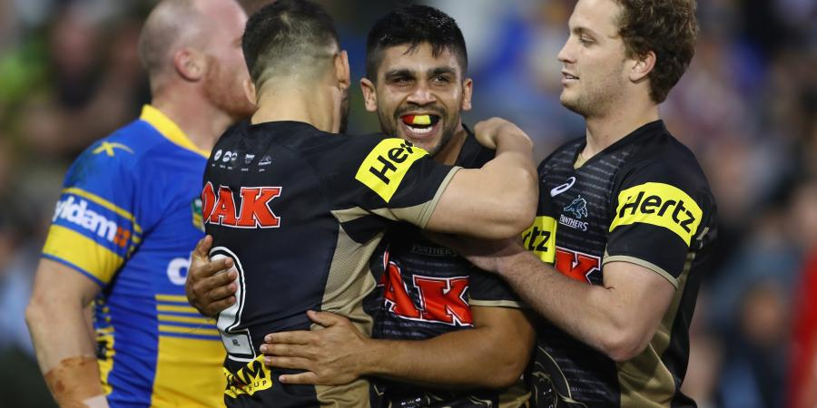 Panthers fight back, kill off Eels' hopes