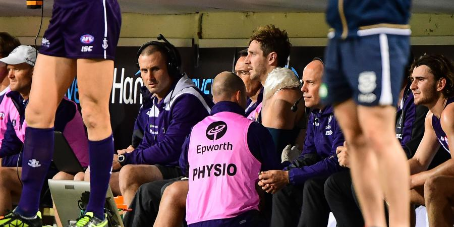 Dockers' stars join growing casualty ward