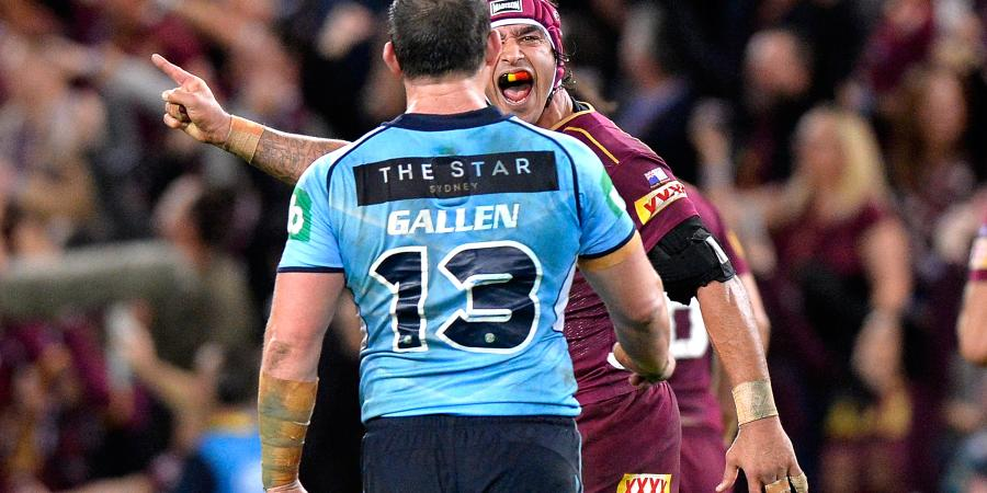Qld Origin spite talk 'boring': Gallen