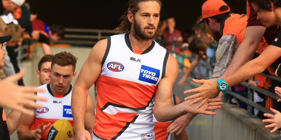 Ward 'forever proud' of Giants century