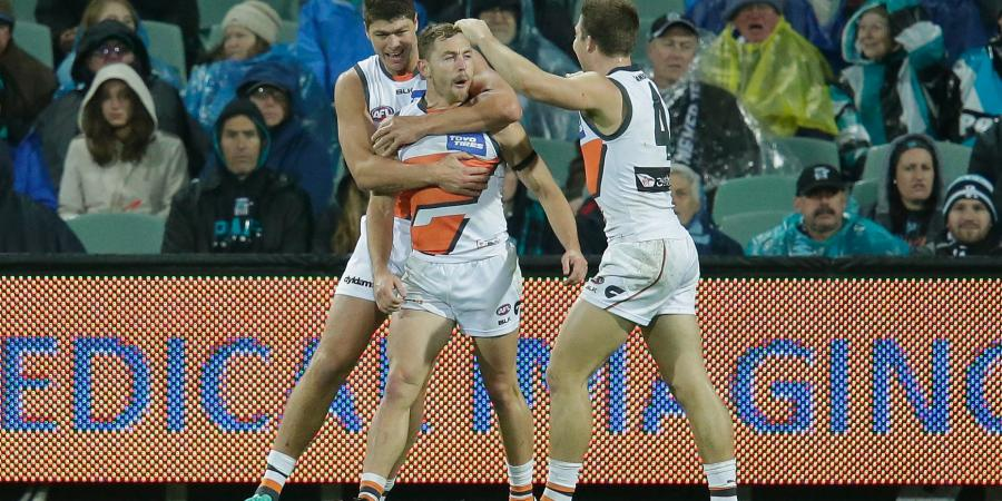 Giant Shane Mumford not badly hurt