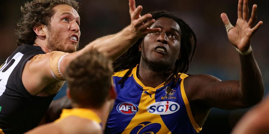 Eagle Naitanui pushing for 'Pies return