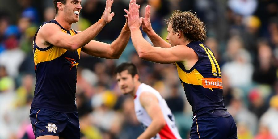 Scrappy Eagles lucky to beat Demons