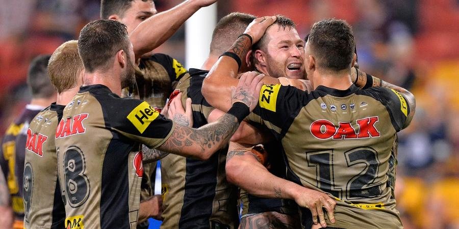 Griffin's Penrith shock Broncos
