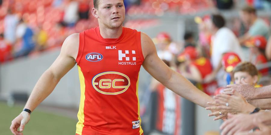 AFL captaincy an honour for Suns' May