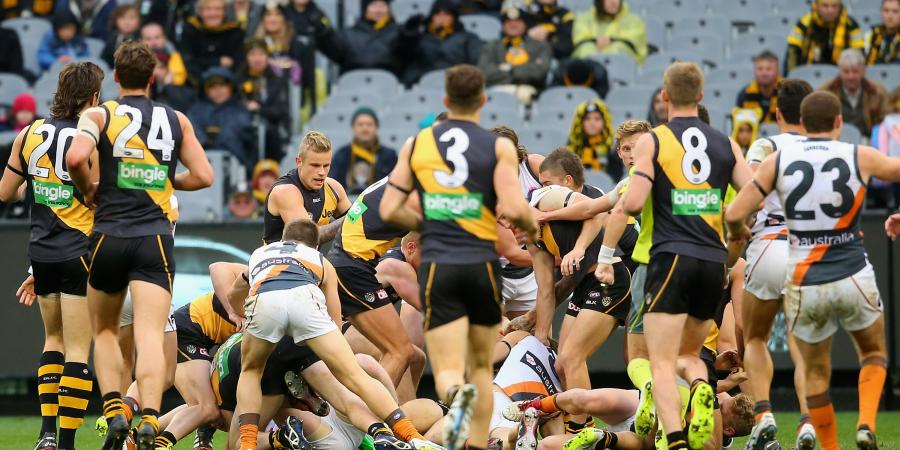 Richmond vs. Greater Western Sydney – The Last Five Years
