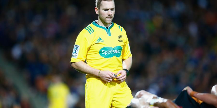Aust ref Gardner gets Super Rugby semi