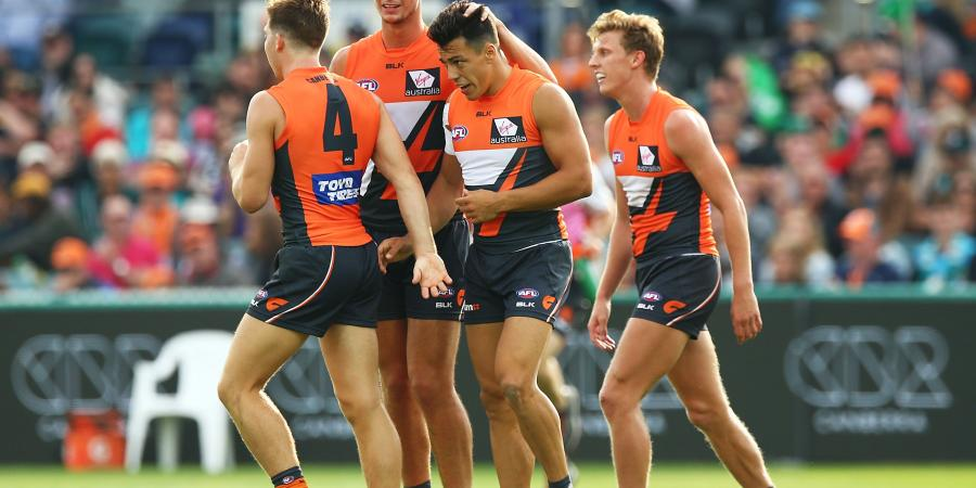 Giants chasing more Canberra success