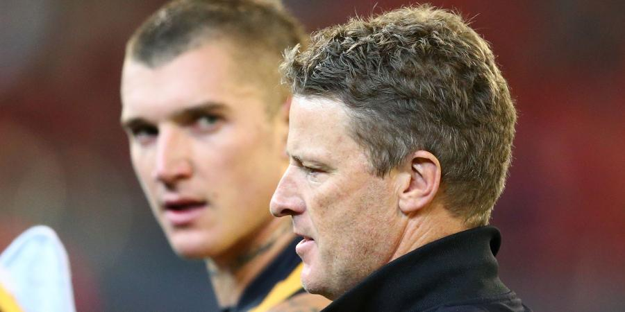 Hardwick explains Dustin Martin critique