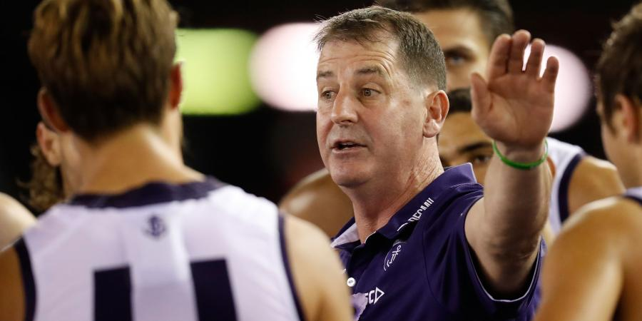 Dockers coach says tank talk is garbage