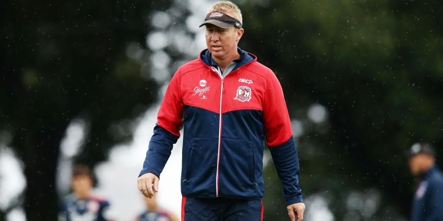 Roosters coach Robinson signs to 2019