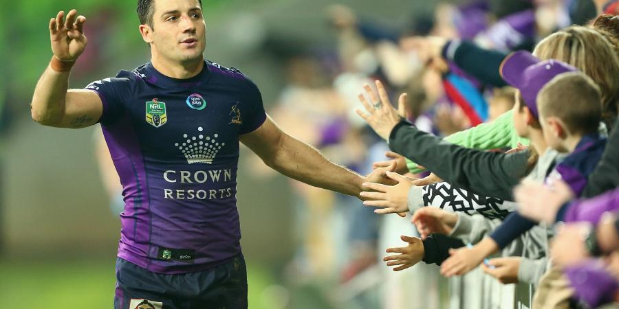 Cronk shrugs off injury in Storm NRL win