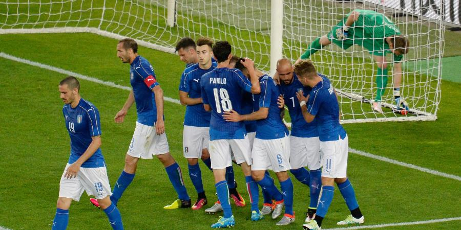 Candreva inspires Italy to friendly win