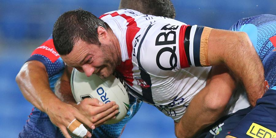 Roosters rally around hurting Cordner