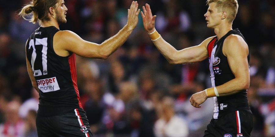 Riewoldt 50/50 to face Carlton, as four Saints sidelined