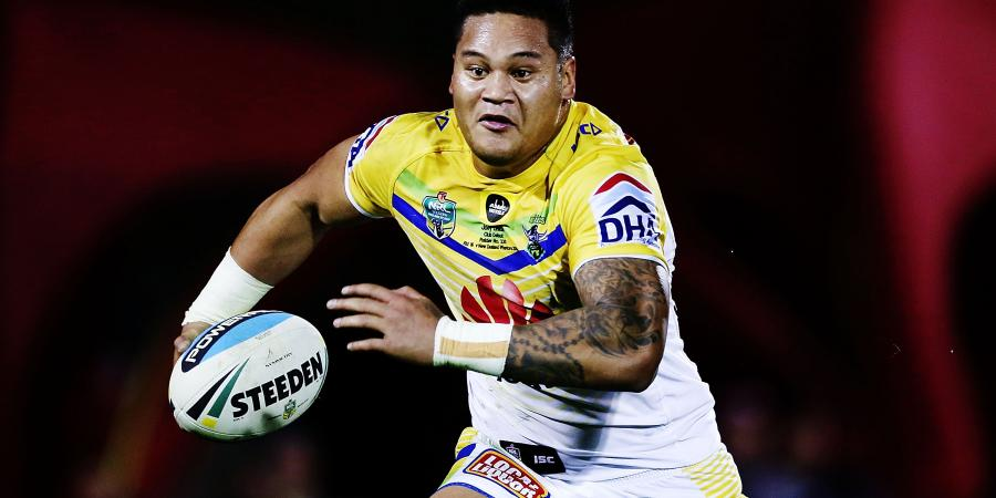 Leilua in NSW mix for Origin II: Croker