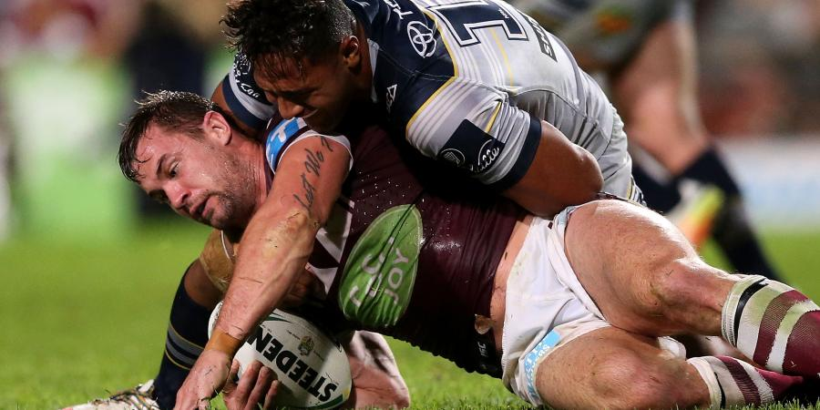 Lawrence's NRL season over for Manly
