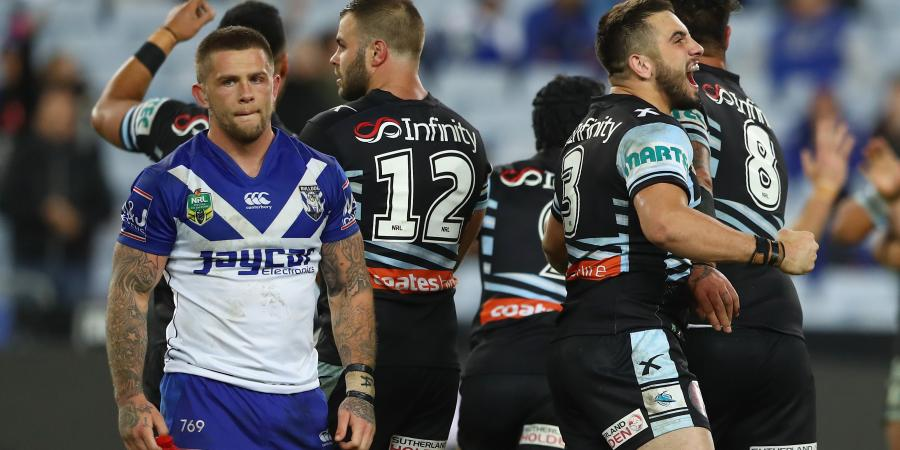 Sharks go from hunter to hunted in NRL