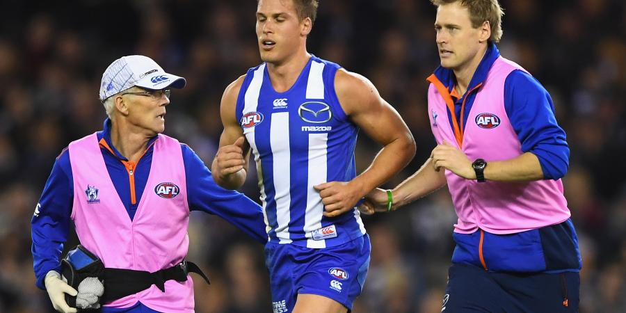 North hit by injuries in loss