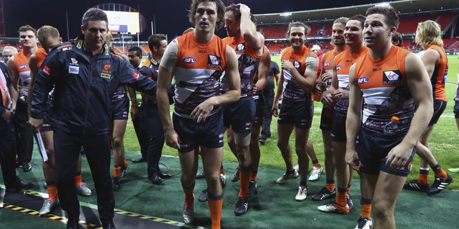 Giants thump Swans in Sydney AFL derby