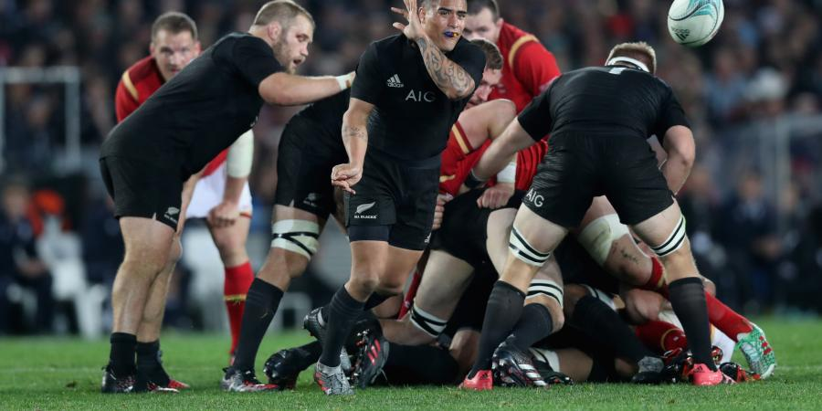 All Blacks hold off Wales to win 39-21