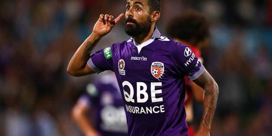 Diego Castro eyes off A-League title