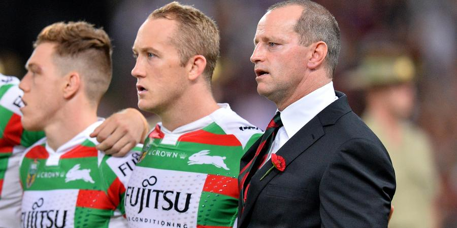 Souths coach has quiet word with prop