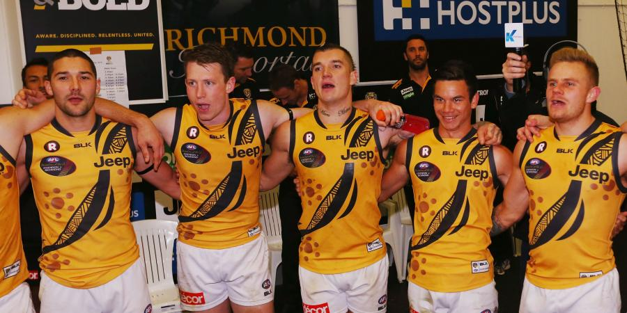 TOP 5: Richmond's Best Games at the Halfway Point in Season 2016