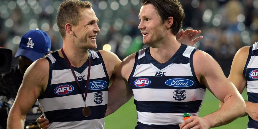 Selwood revels in uniting with Dangerfield